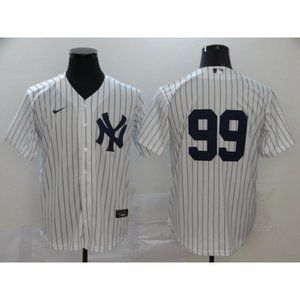 New York Yankees Aaron Judge White Game Jersey 1